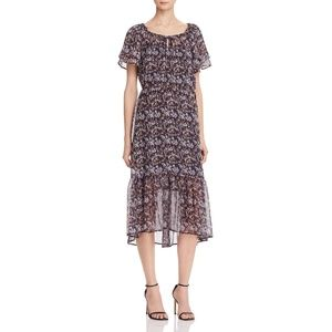 Beltaine Womens Paloma Ruffled Casual Dress $198